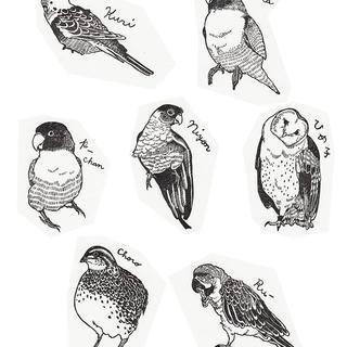 オーダー鳥ちゃんハンコ
