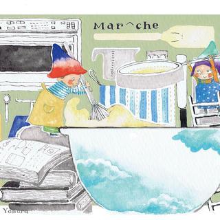 カフェ「Mar^che」紙もの2
